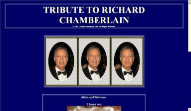 Richard Chamberlain Tribute